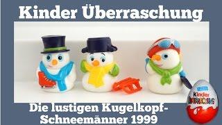 Die Lustigen Kugelkopf-Schneemanner