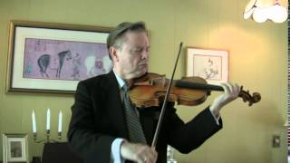 Robert Rozek plays Bach and Milstein