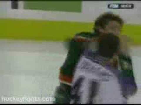 Raitis Ivanans vs Derek Boogaard