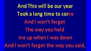 Zombies -   This Will Be Our Year (karaoke)