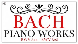 One Hour Bach Piano Works | Instrumental Baroque Classical Music
