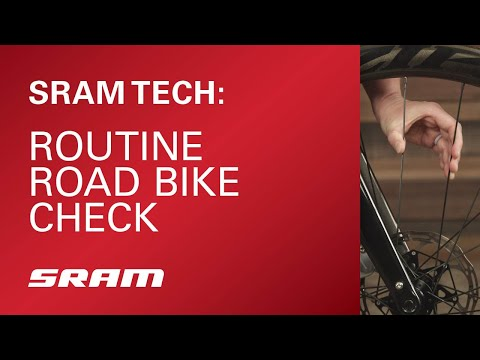 SRAM Tech: Routine Road Bike Check