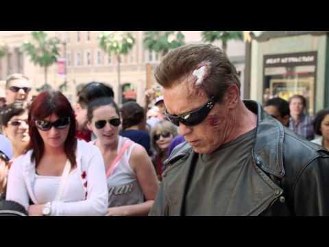 Terminator Genisys Prank (Arnold Schwarzenegger)