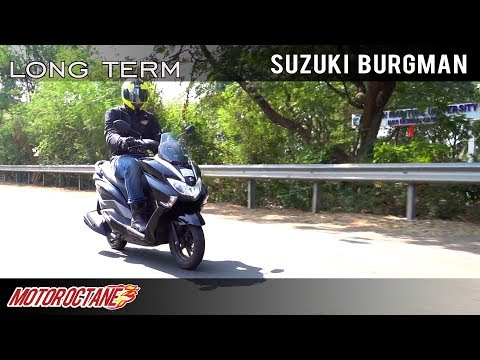 Suzuki Burgman Long Term Report 1 | Hindi | MotorOctane