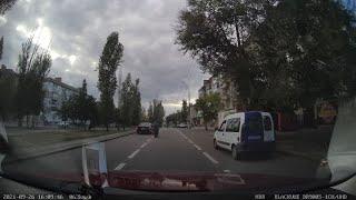 Появилось видео столкновения мотоцикла и «Форда» в Николаеве