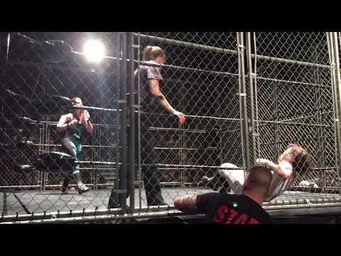 Nicole Matthews vs. Cat Power - Steel Cage Wrestling Match for the ECCW Women's Championship