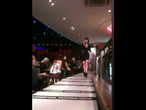 Performing at Liverpool Fashion Week