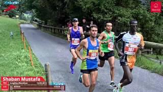 Shaban Mustafa , Sieger Des 23. Jungfrau-Marathon 2015
