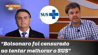 Após pressão de políticos, médicos e até de Anitta, Bolsonaro revoga decreto sobre o SUS