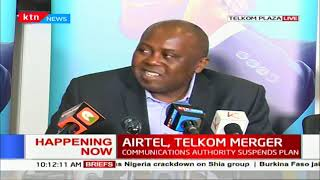 Telkom and Airtel address the Communication Authority's suspension of merger