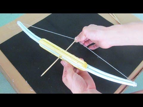 Wie man einen Bogen mit Papier machen