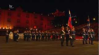 Russia Kremlin Guard and Band Drill Show - Kreml Ehrengarde und Präsidialorchester Drill Show
