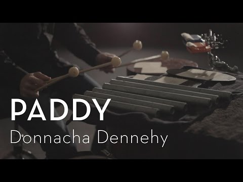 Playing a percussion solo by the composer Donnacha Dennehy.