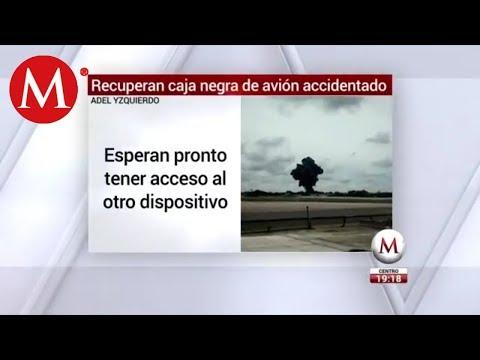 Recuperan caja negra del avión accidentado en Cuba