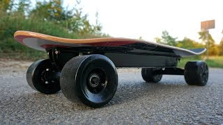 Making an Electric Skateboard in the Simplest Way