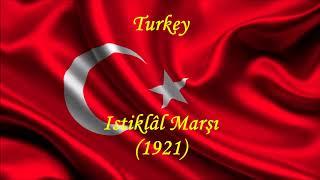 Turkey - Istiklâl Marşı (1921) - National Anthem - Music , Lyrics and Text