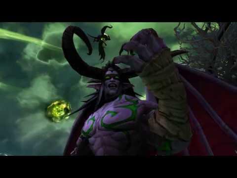 Пылающий Легион атакует Башню магов