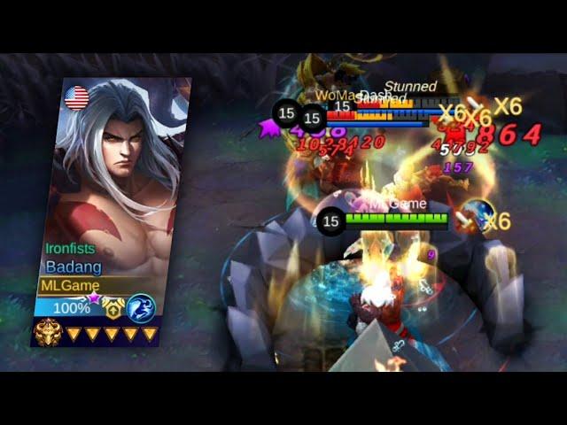 Badang MVP Gameplay Critical BOD | Survival Mode