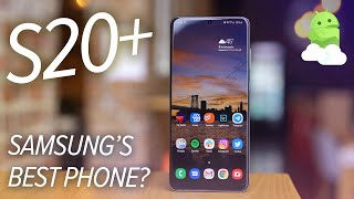 Samsung Galaxy S20+ review: Just right