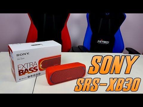 Sony SRS-XB30 - test, recenzja, review mniejszego brata Sony SRS-XB40