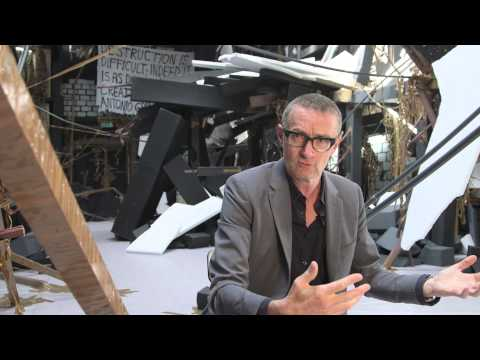 Thomas Hirschhorn introduces his work entitled In-Between