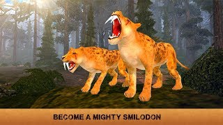 🐅👍Sabertooth Tiger Family Sim-Семейство Смилодонa-By Wild Animals Clan-Android