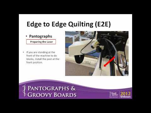Pantographs and Groovy Boards (Consumer Webinar 08.09.2012)