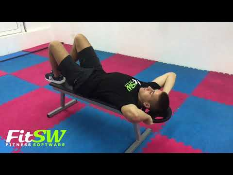 Weighted Twisting Crunch