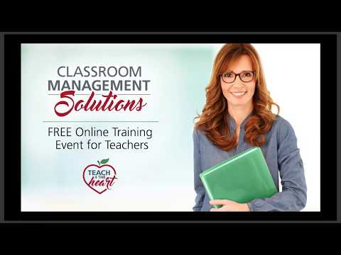 Classroom Management Solutions training for teachers - YouTube