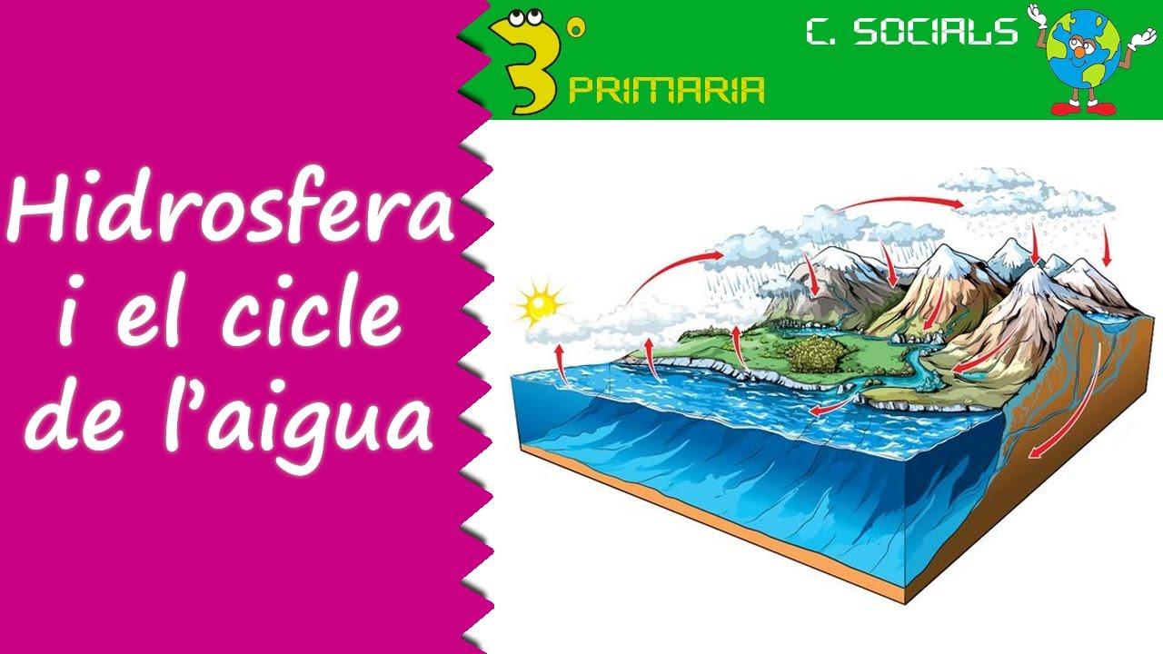 Ciències Socials. 3r Primària. Tema 7. La hidrosfera. Cicle de l'aigua