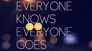 Video Never again (LYRICS video)