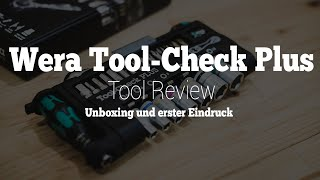 Wera Tool-Check Plus | Unboxing & erster Eindruck