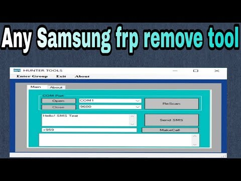 Samsung Frp Remove Tool Easy Way Remove Calling Method Gsm