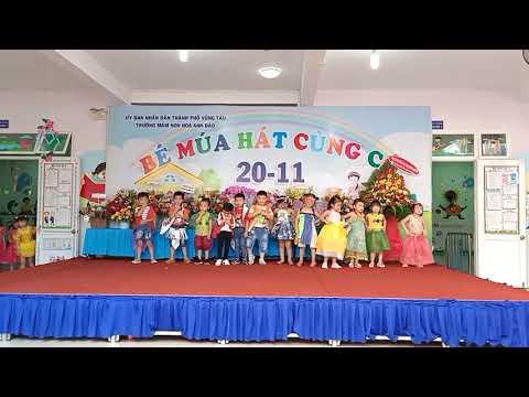 Biểu diễn thời trang - lớp 4-5 tuổi 1