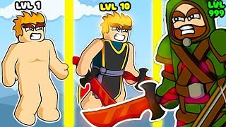 EVOLUTION OF HUMAN O GROW POWER IN GAME FLOPPY HEROES!