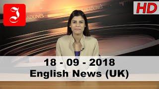 News English UK 18th Sep 2018