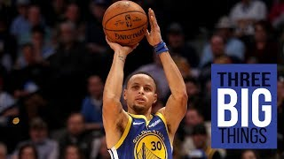 3 Big Things: Flawless first quarter pushes Warriors to victory