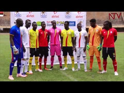 New Uganda Cranes kit unveiled
