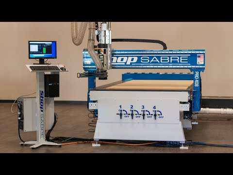 ShopSabre – Wood Frame Project with PRO Series Routervideo thumb