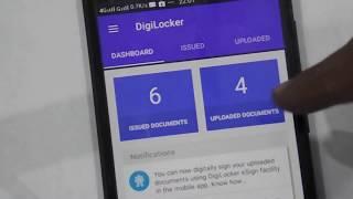 Digital India- DigiLocker App. Get Your Aadhar Card, Driving License, RC book, 10th & 12th Marksheet