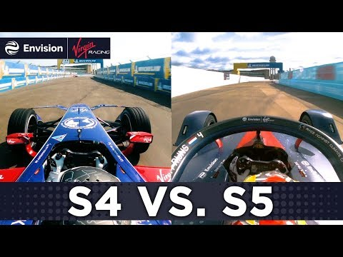 Formula E Speed Comparison Season 4 vs Season 5: Full Onboard Lap