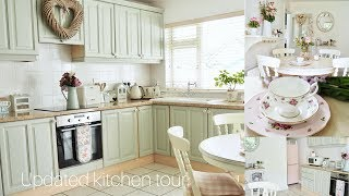 Kitchen Tour, Shabby Chic And Cottage Style Decor
