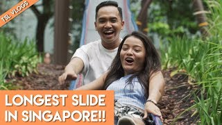 LONGEST SLIDE IN SINGAPORE! | TSL VLOGS