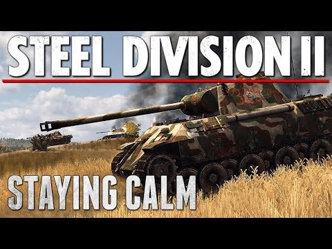 STAYING CALM - Steel Division 2 - Multiplayer Gameplay [3v3 - Orsha, North]