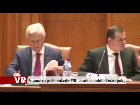 Propunere a parlamentarilor PNL: un abator mobil în fiecare judeţ