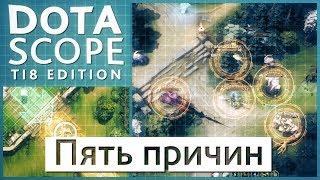 Dotascope TI8 Edition: Пять причин