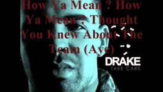 Drake - Cameras / Good Ones Go Interlude (Good Quality & Lyrics)