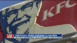 Kentucky Fried Chicken locations close