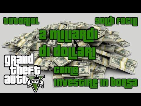 Gta 5 Investire in borsa e guadagnare 2 miliardi di dollari(2.000.000.000 $)! #1#