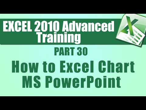 Microsoft Excel 2010 Advanced Training - Part 30 - How to Export an ...
